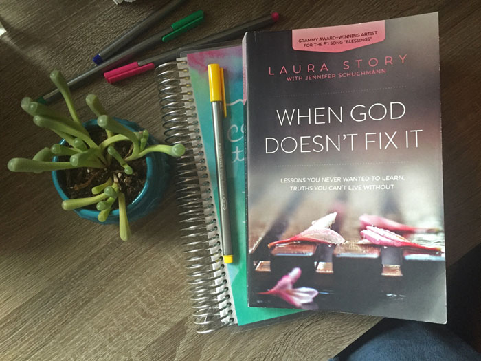 This book by Laura Story is the one that helped me heal after my miscarriage.