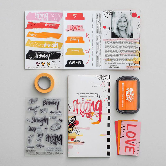 I love this month's devotional kit from Illustrated Faith!