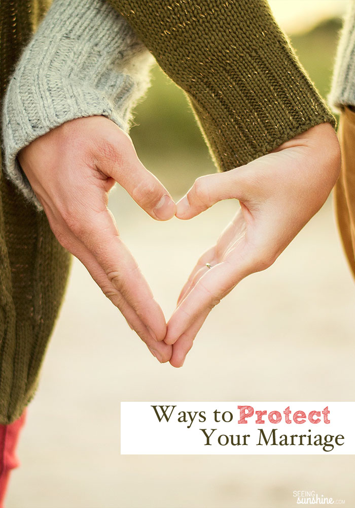 It is so important to protect your marriage in any way you can. Read these five ways you can protect your marriage from everything and everyone that wants to destroy it.