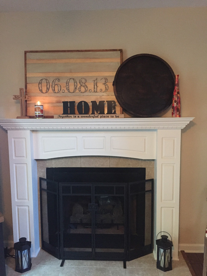 Living Room Mantle