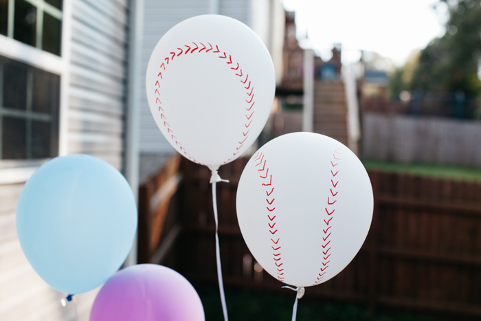 Baseball Gender Reveal Party Decorations