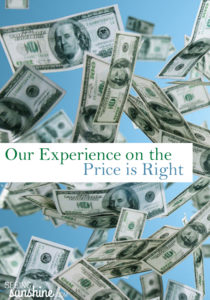 Our Price is Right Experience