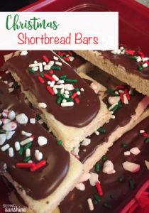 Christmas Shortbread Bars