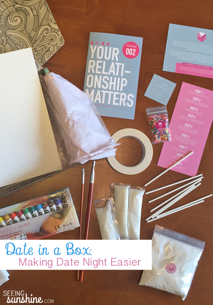 A Date in a Box: Making Date Night Easier