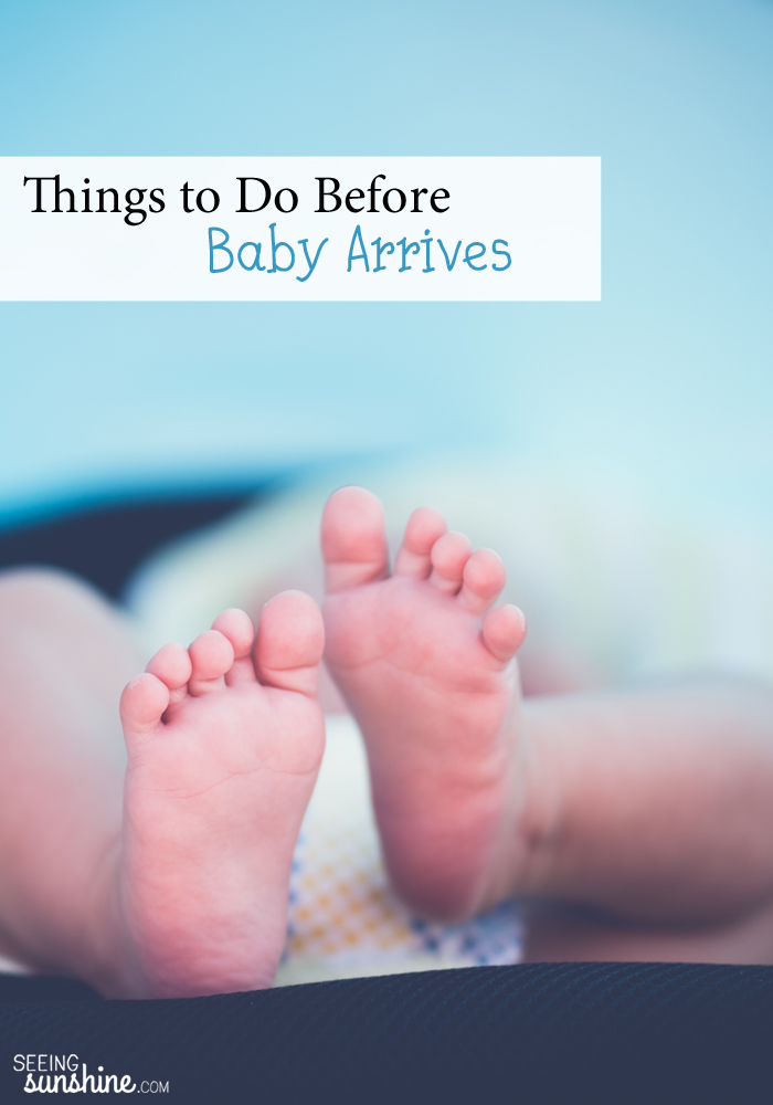 As your due date approaches, there are so many things to do before baby arrives! Read this list and get prepared!