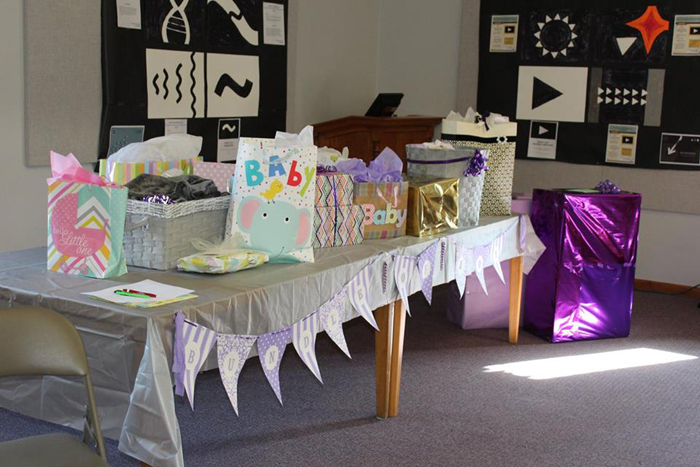 Purple Elephant Baby Shower Ideas Seeing Sunshine