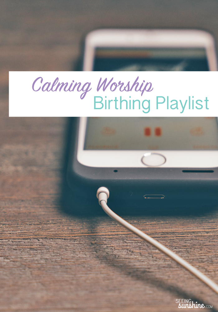 Check out the songs I plan to listen to during labor and delivery. This birthing playlist is full of calming worship music.