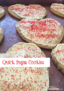 Quick Sugar Cookies