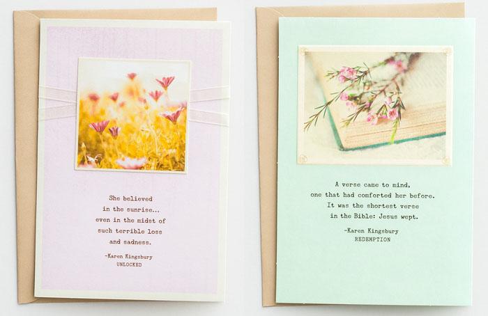 Karen Kingsbury Sympathy Cards