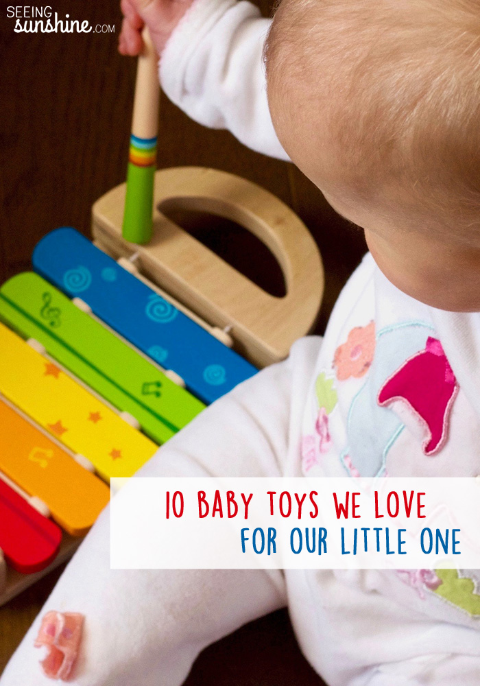 Baby toys are great for not only keeping little ones entertained, but for helping them learn and develop. These ten toys are our favorites!
