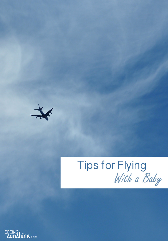 Flying with a baby can be stressful! But with these tips, you can have a smooth trip!