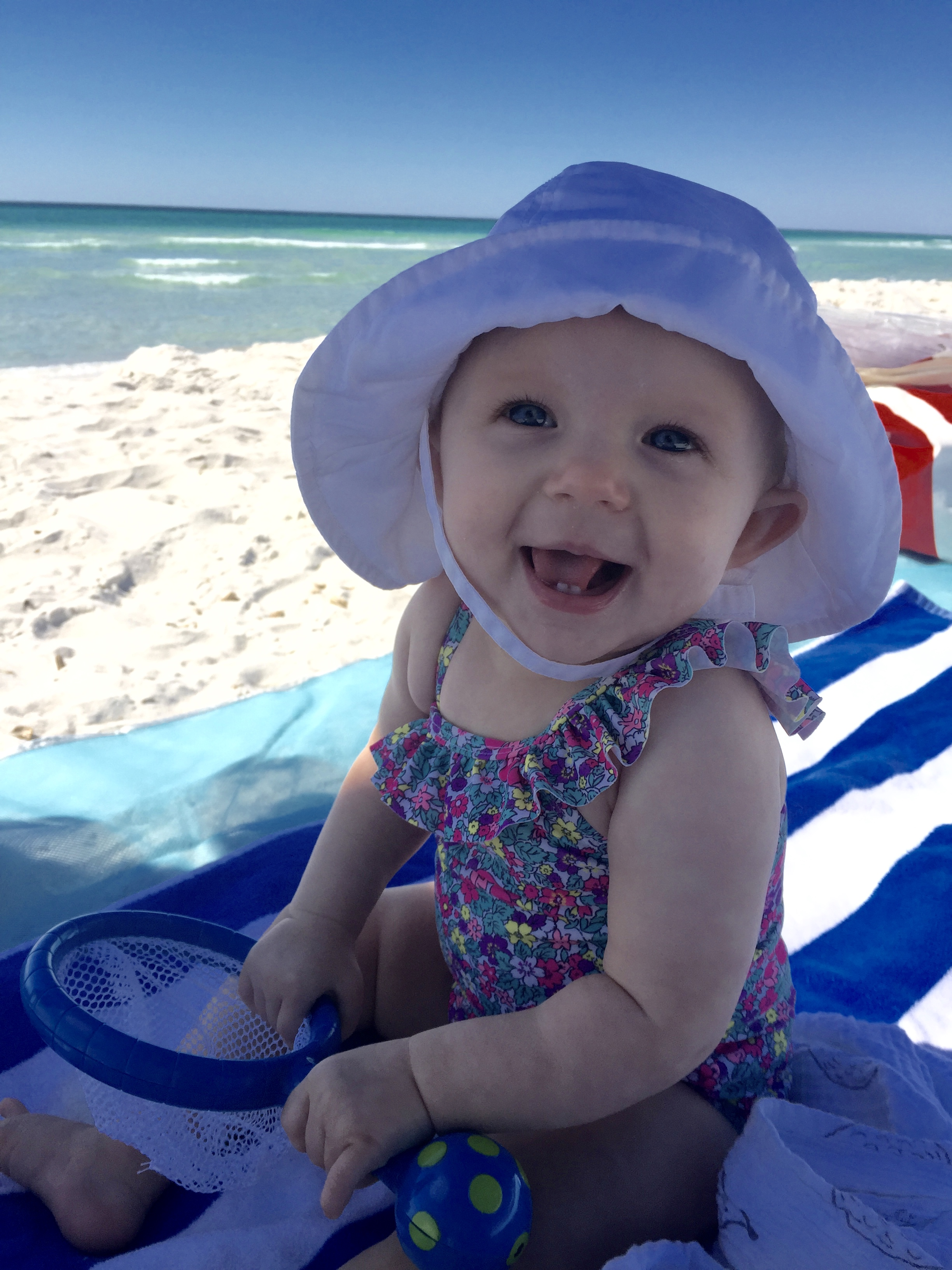 Check out these tips for taking baby to the beach!